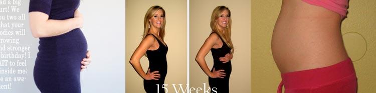 Фото живота мамы на 15 неделе беременности