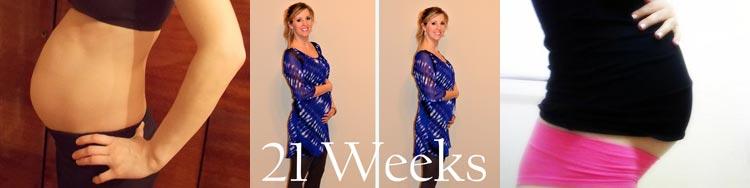 Фото живота на 21 неделе беременности