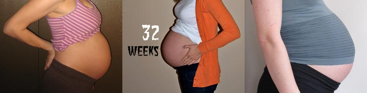 Фото животов на 32 неделе беременности