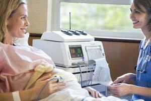 КТГ на 40-42 неделе беременности