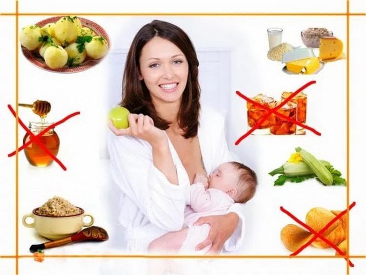 как похудеть кормящей матери без вреда