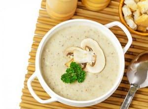 Суп пюре из шампиньонов для детей