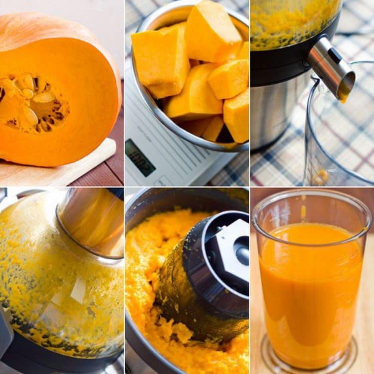 Рецепт вкусного сока из тыквы