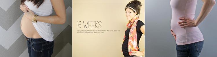 16 недель беременности фото живота