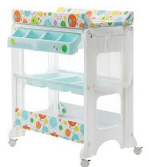 Пеленальный столик для новорожденных: комоды с матрасиком для пеленания, пеленалки для младенцев