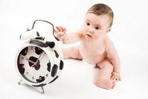 Режим дня новорожденного ребёнка