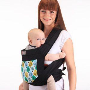 Смотрите как носить ребенка в слинге