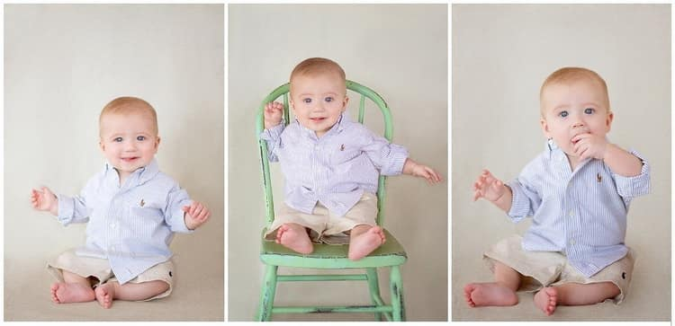 Во сколько месяцев малыш начинает сидеть