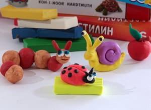 Фигурки из пластилина для детей 3-5, 8-10 лет. Легкие поделки для детского сада, детей постарше пошагово с фото для начинающих