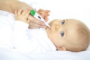При высокой температуре у ребенка холодные руки и ноги комаровский — Детки-конфетки