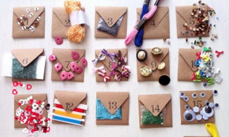 Какие задания для адвент календаря для детей.