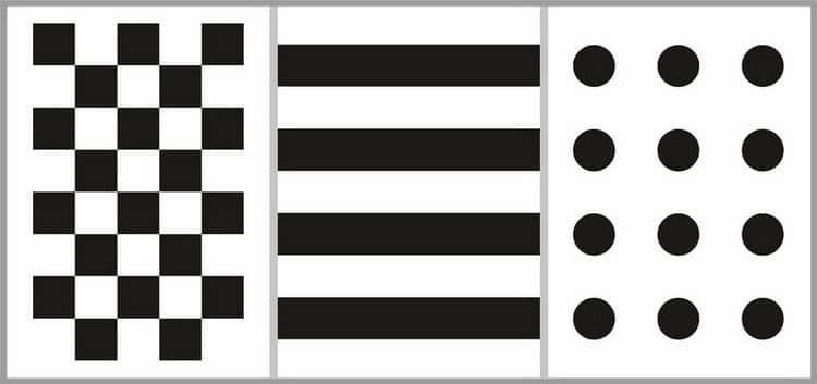 Зачем черно-белые картинки для грудничков