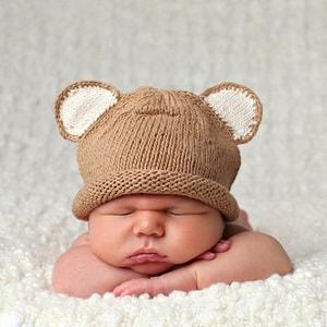 Как правильно связать чепчики для новорожденных от 0 до 3 месяцев спицами