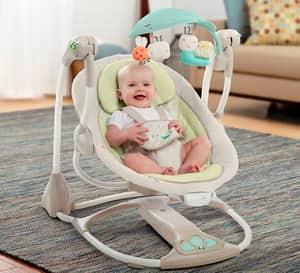 Как выбрать электронные качели для новорожденных малышей